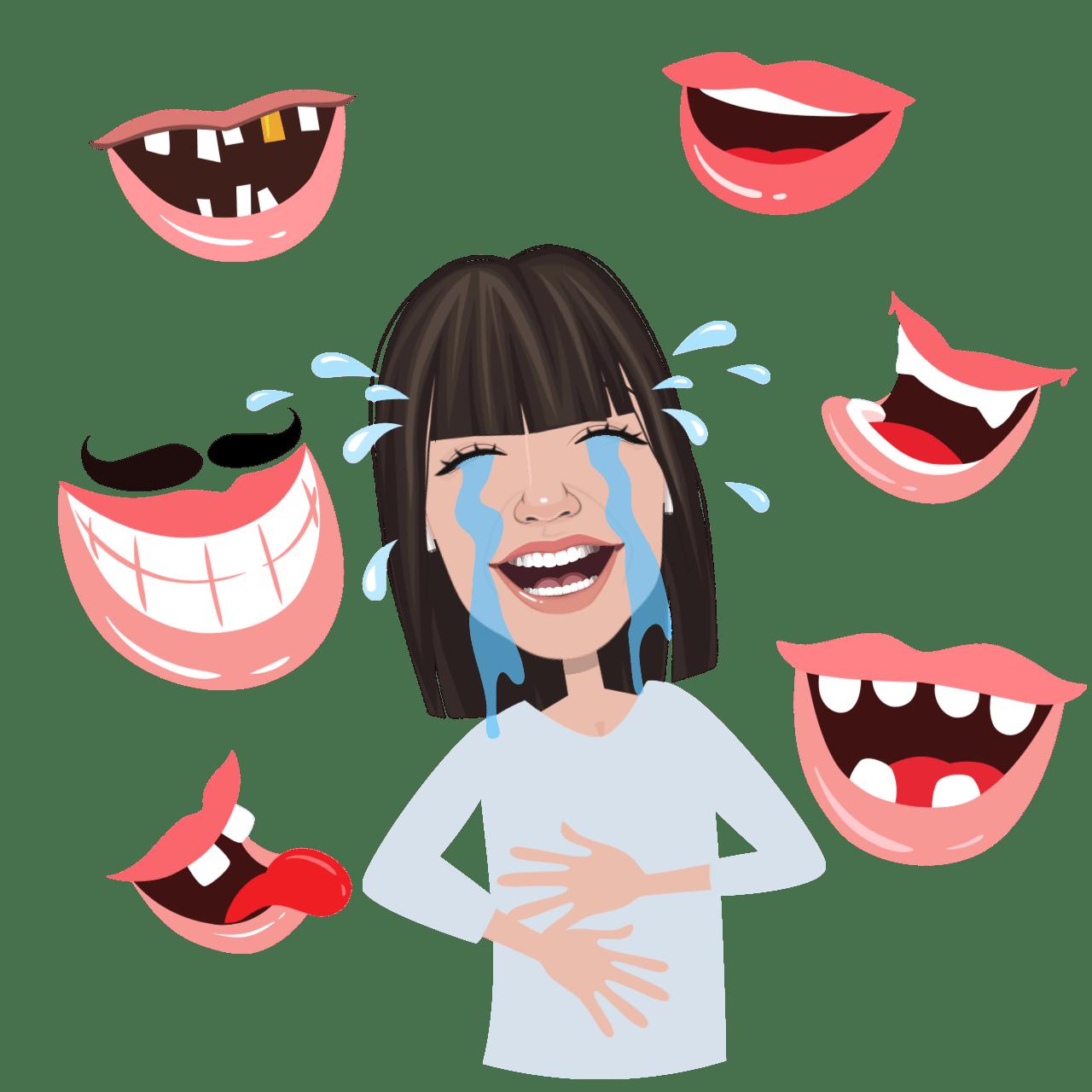 les bénéfices du rire